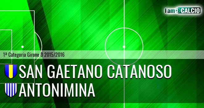 San Gaetano Catanoso - Antonimina