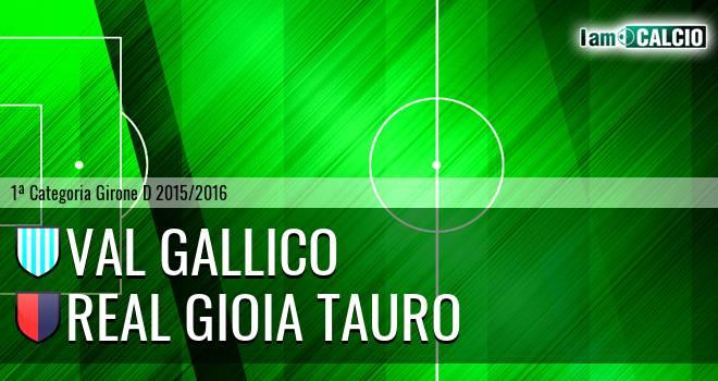 Val Gallico - Real Gioia Tauro