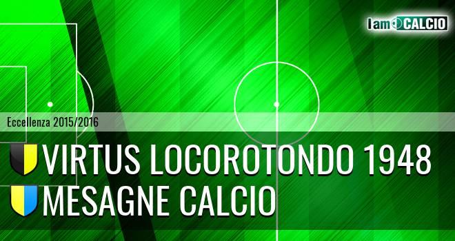 Virtus Locorotondo 1948 - Mesagne Calcio