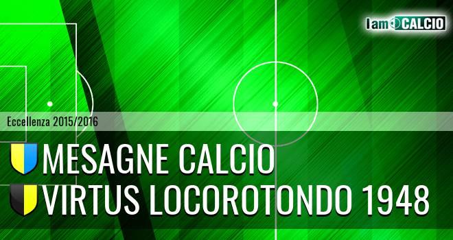 Mesagne Calcio - Virtus Locorotondo 1948
