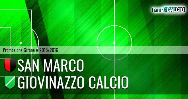 San Marco - Giovinazzo Calcio