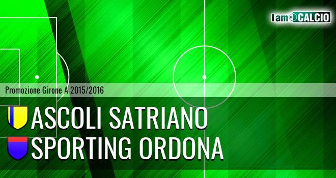 Ascoli Satriano - Sporting Ordona