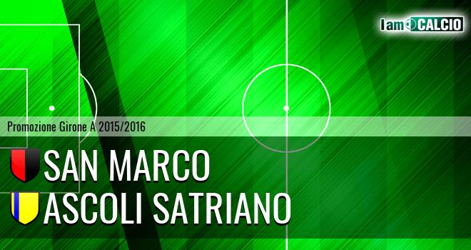 San Marco - Ascoli Satriano