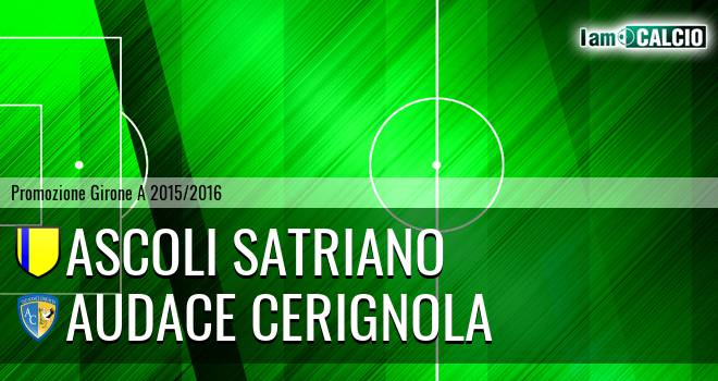 Ascoli Satriano - Audace Cerignola