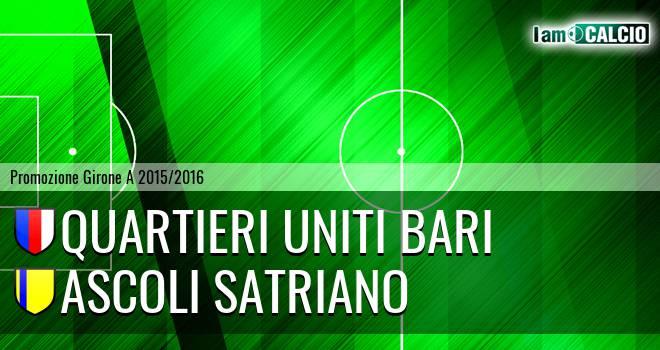 Quartieri Uniti Bari - Ascoli Satriano