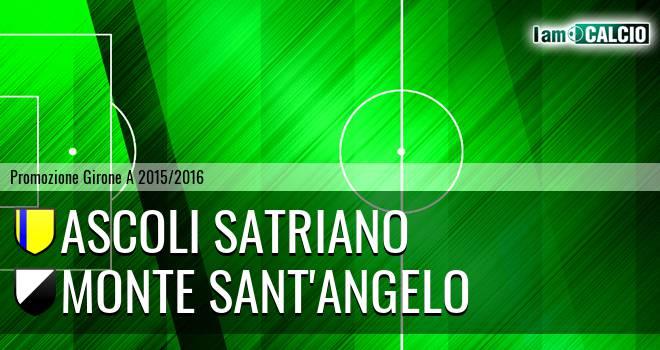 Ascoli Satriano - Monte Sant'Angelo