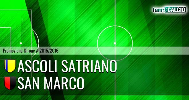 Ascoli Satriano - San Marco