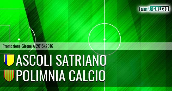 Ascoli Satriano - Polimnia Calcio