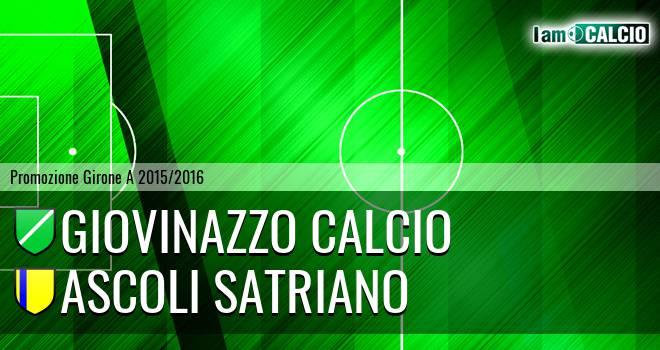Giovinazzo Calcio - Ascoli Satriano
