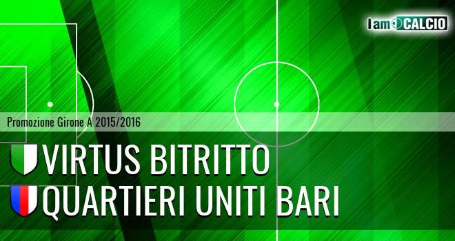Vigor Bitritto - Quartieri Uniti Bari