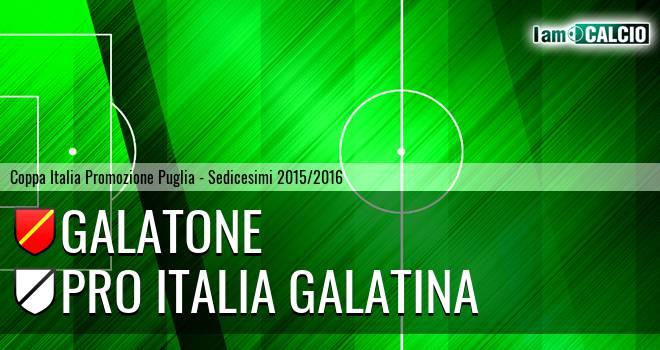 Galatone - Pro Italia Galatina