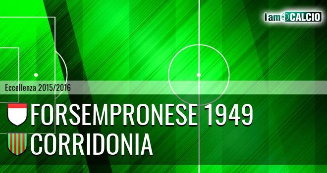 Forsempronese 1949 - Corridonia
