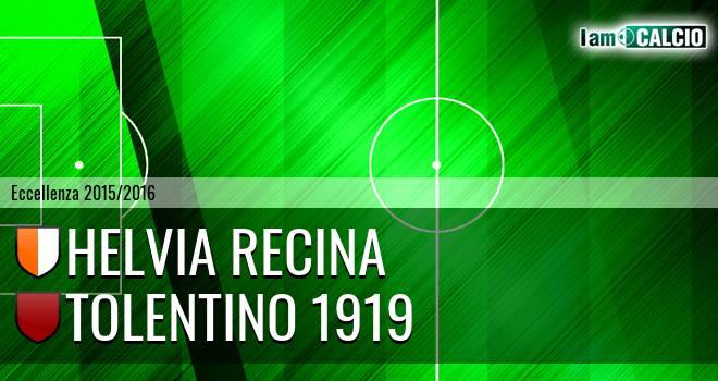 Helvia Recina - Tolentino 1919