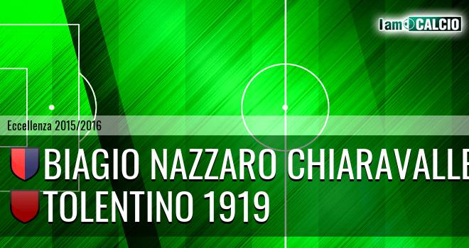 Biagio Nazzaro Chiaravalle - Tolentino 1919