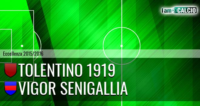 Tolentino 1919 - Vigor Senigallia