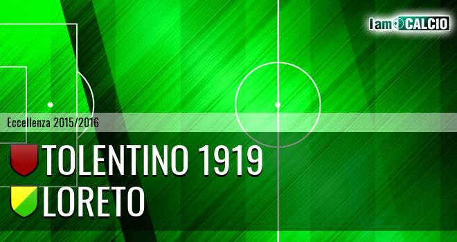 Tolentino 1919 - Loreto