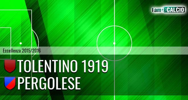Tolentino 1919 - Pergolese