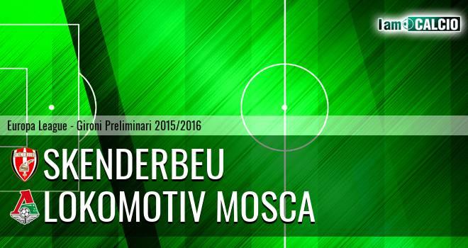 Skenderbeu - Lokomotiv Mosca