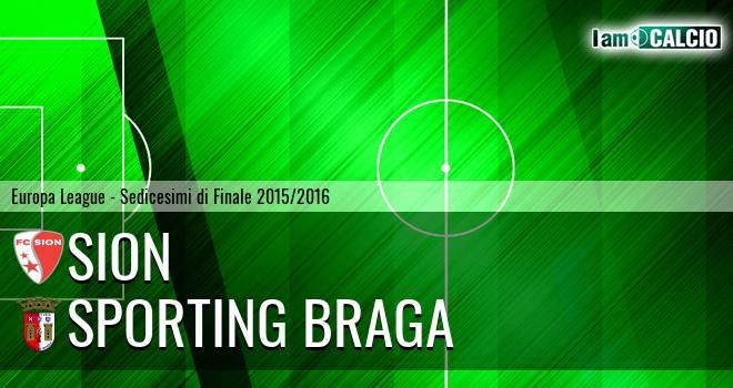 Sion - Sporting Braga