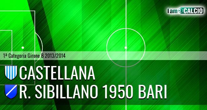 Castellana - R. Sibillano 1950 Bari
