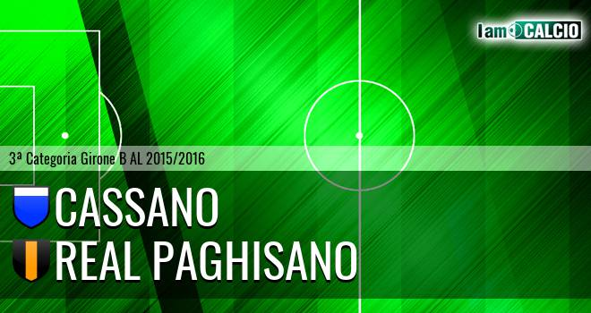 Cassano - Real Paghisano