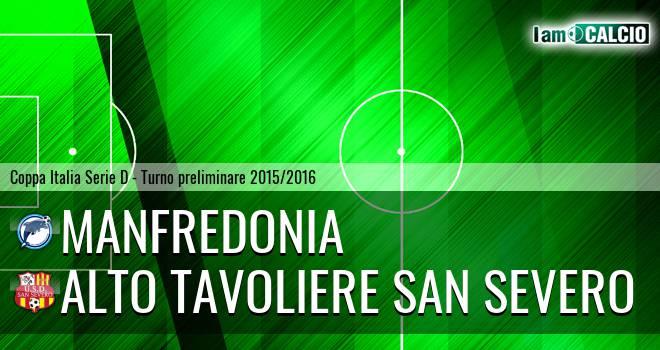 Manfredonia Calcio 1932 - Alto Tavoliere San Severo 6-5. Cronaca Diretta 30/09/2015
