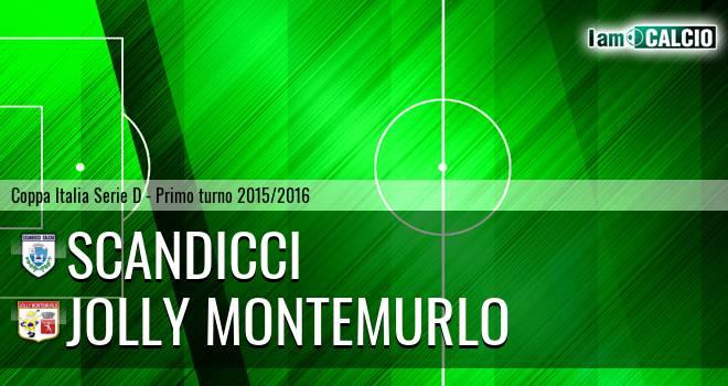 Scandicci - Jolly Montemurlo