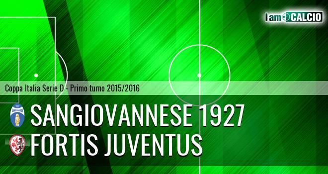 Sangiovannese 1927 - Fortis Juventus