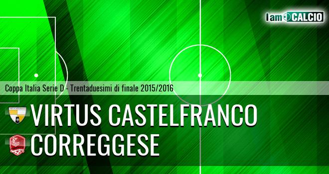 Virtus Castelfranco - Correggese
