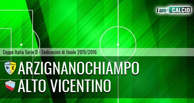 Arzignano Valchiampo - Alto Vicentino