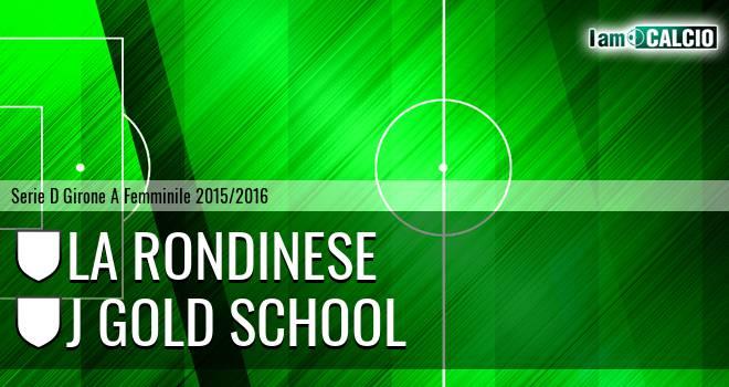 La Rondinese - J Gold School