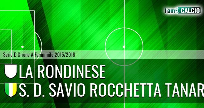La Rondinese - S. D. Savio Rocchetta Tanaro