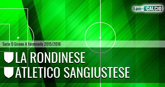 La Rondinese - Atletico Sangiustese
