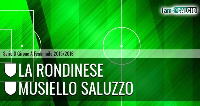 La Rondinese - Musiello Saluzzo