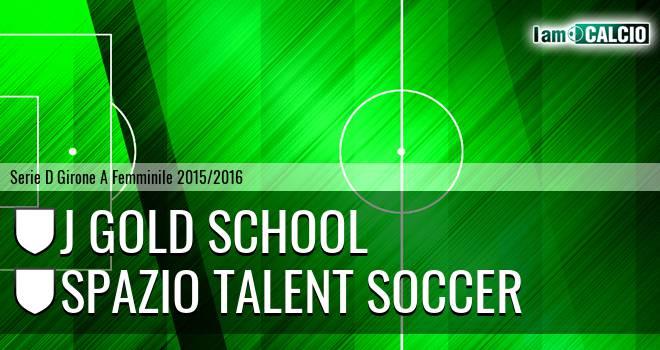 J Gold School - Spazio Talent Soccer