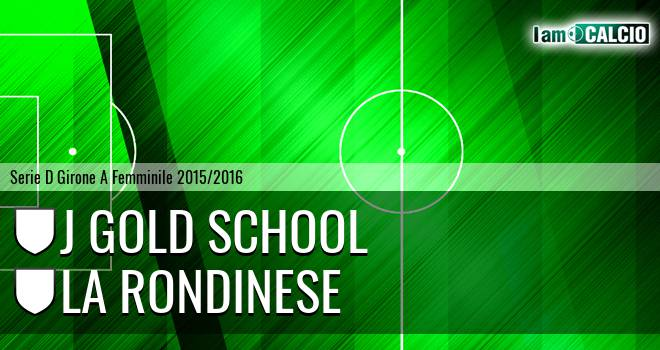 J Gold School - La Rondinese
