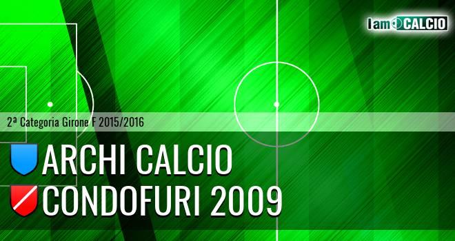 Archi Calcio - Condofuri 2009