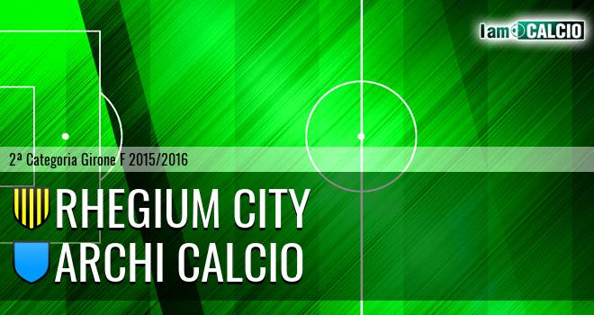 Rhegium City - Archi Calcio