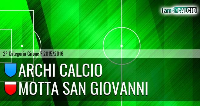 Archi Calcio - Motta San Giovanni
