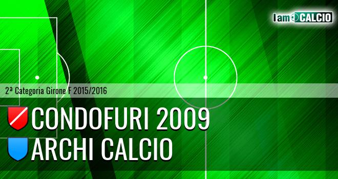 Condofuri 2009 - Archi Calcio