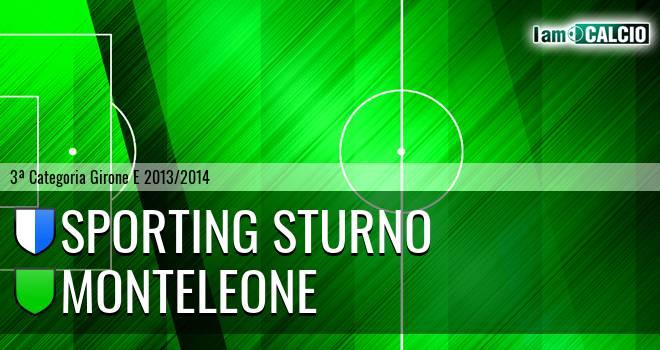 Sporting Sturno - Monteleone
