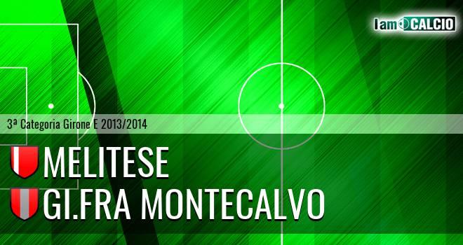 Melitese - GI.FRA Montecalvo