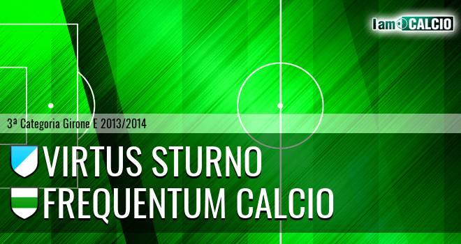 Virtus Sturno - Frequentum Calcio