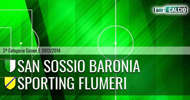 San Sossio Baronia - Sporting Flumeri