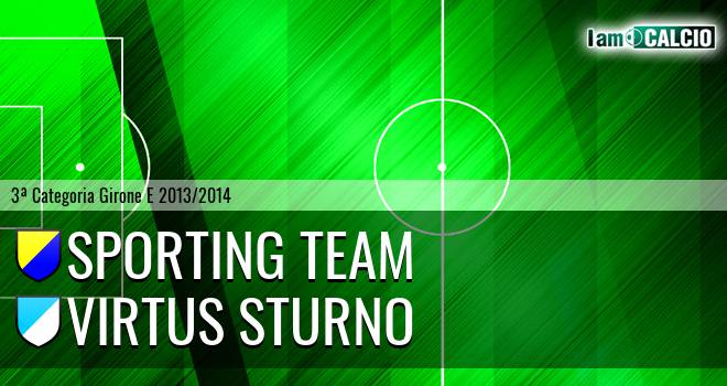 Sporting Team Maroso - Virtus Sturno