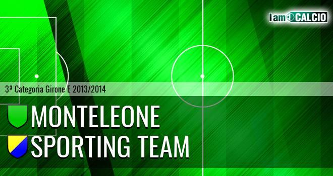 Monteleone - Sporting Team Maroso