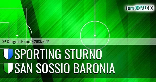 Sporting Sturno - San Sossio Baronia