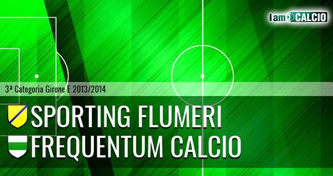 Sporting Flumeri - Frequentum Calcio