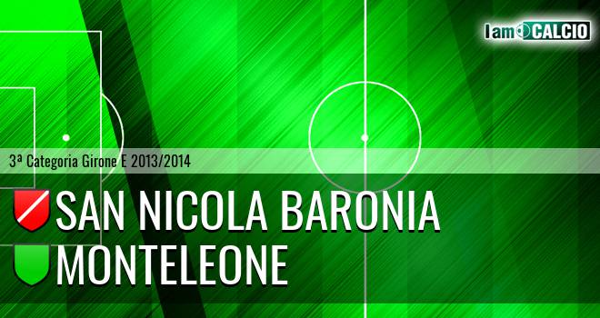 San Nicola Baronia - Monteleone
