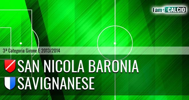 San Nicola Baronia - Savignanese
